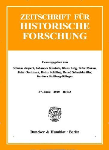 Zeitschrift für Historische Forschung [Jahresabo]