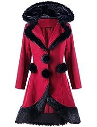 Kanpola Chaquetas de Mujer Abrigos de Mujer Invierno Elegantes, Delgado Zanja Abrigo para mujer