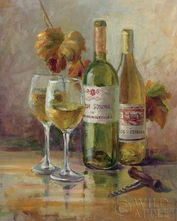Weinreben Küche Dekor (Opening the Wine II Von Nai, Danhui Kunstdruck auf Leinwand - Klein (41 x 51 cms ))