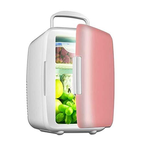 LMDC 6L Kühlschrank Wärmeisolierung Warme Box Mini Kleinen Kühlschrank Kleine Haushaltskühlung Auto Kühlschrank Auto Home (23 * 16 * 25 cm) (Color : Pink)