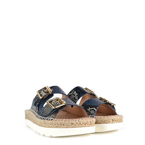 Kanna Doha Sandalen, Damen Blau