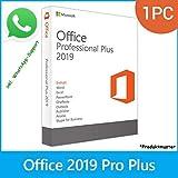 LIZENZ KEY für MS Office 2019 Professional Plus - POSTBRIEF-VERSAND - 32 & 64 Bit - 1 Aktivierung / 1 PC + Anleitung von U-S-B Unleashed-Shop-Bolt®