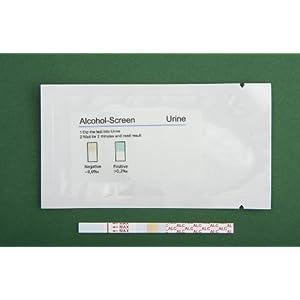 Alkoholtest (Urin) 10 Teststreifen (Versandzeit 1 Werktag)