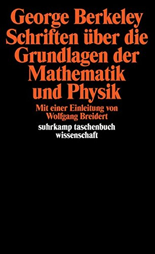 Schriften über die Grundlagen der Mathematik und Physik (suhrkamp taschenbuch wissenschaft, Band 496)