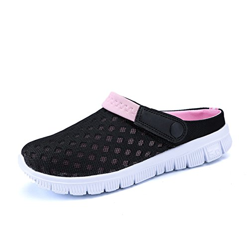 FOBEY Herren Damen Schlüpfen Atmungsaktiv Schuhe Paare Sport Sandalen Flip Flops CN-927-Pink-39