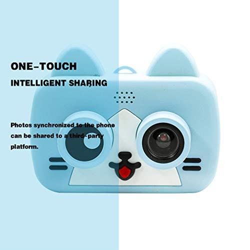 HWUKONG Kinder-Kamera, wasserdicht und staubdicht kann mit WiFi-Kamera, 2-Zoll-Bildschirm Unterwasser-Digitalkamera verbunden Werden, Jungen und Mädchen Geburtstagsgeschenk