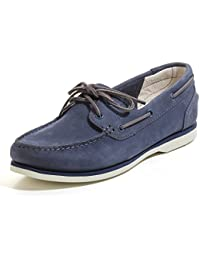 TIMBERLAND Classic Boat Unlined A14DP femmes Chaussures à lacets, bleu 36 EU