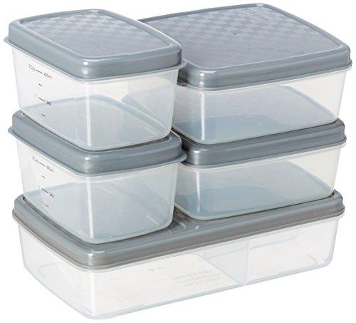 Jaxx FITPAK Meal Prep Deluxe a prueba de fugas Kit...