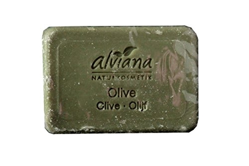 Alviana Pflanzenöl-Seife Olive 100 g