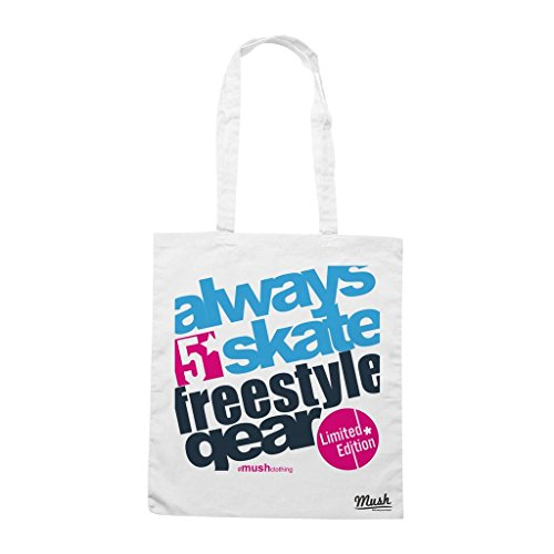 Borsa Always Skate Freestyle - Bianca - Famosi by Mush Dress Your Style - Freestyle Skate Shop