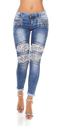 In-Stylefashion - Jeans - Femme bleu bleu Bleu