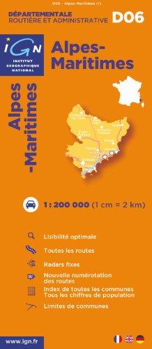 D06 Alpes-Maritimes 1/200.000