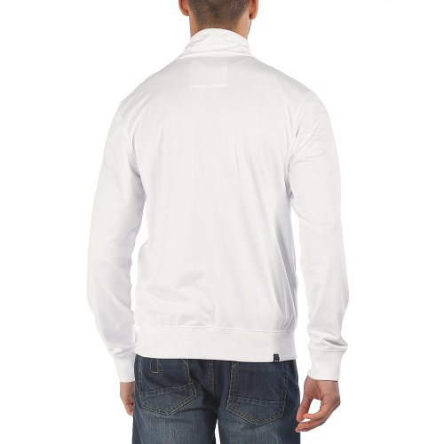 Bench - Trikotjacke Grifter, Felpa Uomo Bianco (Bright White)