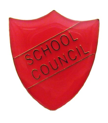 5x School shield badge -