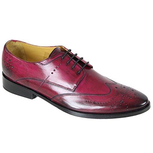 Melvin & Hamilton - Chaussure en cuir Melvin & Hamilton Daniel 4 Bordeaux
