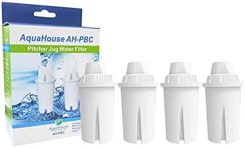 AquaHouse 4 cartuchos filtro agua repuesto AH-PBC