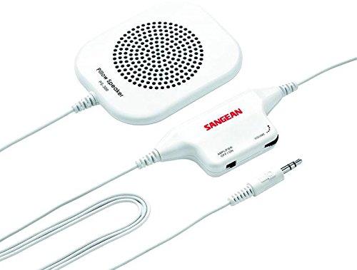 Sangean PS300 - Altavoz de Almohada para Escucha privada, Blanco