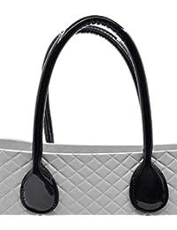 1adbefdd8c accessori o bag manici lunghi spalla/mano manicotti per obag grande o mini  standard nero