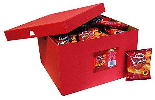 Preisvergleich Produktbild Chio Chips Red Paprika als Wurfmaterial,  für Kindergeburtstag und Büro,  60er Pack (60 x 20g)