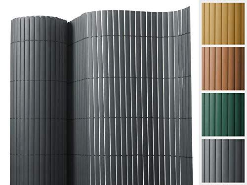 Floordirekt PVC Sichtschutz für Garten, Balkon & Terrasse Sichtschutzzaun | Sichtschutzmatte | Outdoor-Sichtschutz | Erhältlich in Vielen Farben und Größen