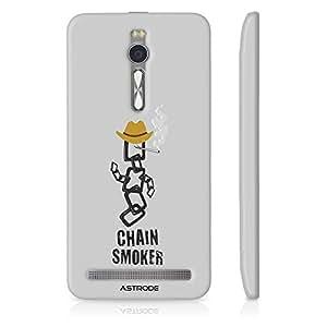 Astrode Chain Smoker Designer Mobile Case Back Cover For Asus Zenfone 2