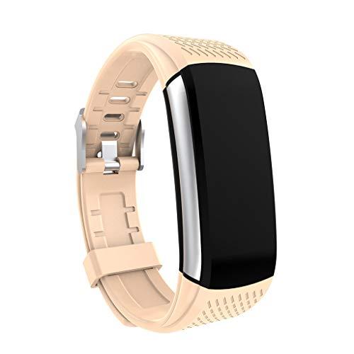 Farbdisplay Multifunktions-Sport Schrittzähler Herzfrequenz-Tracker Informationen prompt HD Bluetooth Stimme IP67 wasserdicht Sport Smart Bracelet/kompatibel mit iOS Android-Gerät