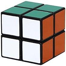 EASYTAR 2x2x2 Speed Puzzle Smooth Magic Cube,Black