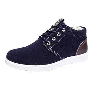 Yying Schuhe Herren Sneakers Winterstiefel Warm Gefütterte Winterschuhe Männer Schuhe Stiefeletten Turnschuhe