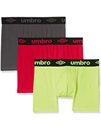 Umbro Packx3, Boxer Homme, (lot de 3 )
