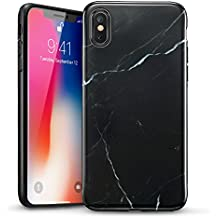 coque marbre noir iphone x
