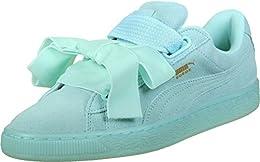 puma basket platform azzurre