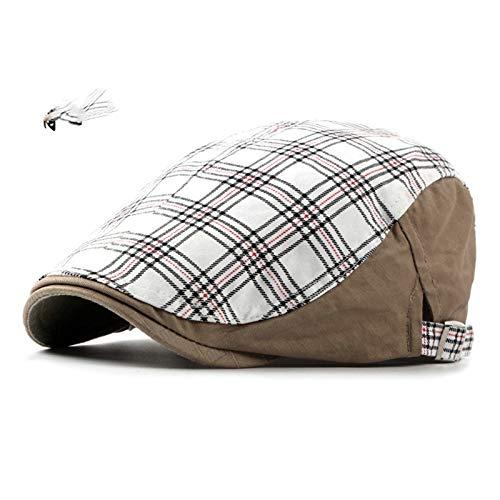 SonMo Unisex Schlägermütze Barett Sommerhut Cotton Baskenmütze Sonnenschutz Hut Outdoor