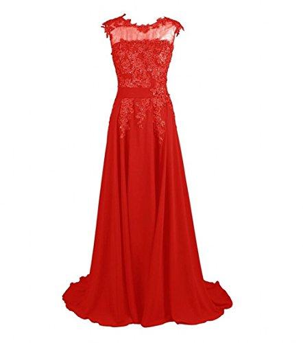KA Beauty - Robe - Fille Rouge - Rot - Rot