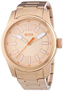 BOSS Orange Damen-Armbanduhr XL Paris Analog Quarz Edelstahl beschichtet 1512993