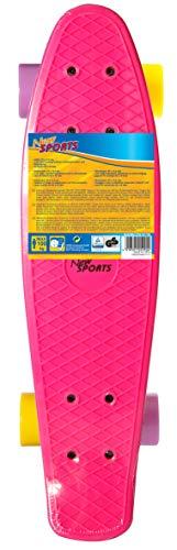 VEDES Großhandel GmbH - Ware New Sports Kick Board, Amarillo y Morado, ABEC 7