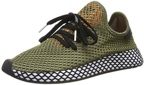 adidas Herren Deerupt Runner Fitnessschuhe, Mehrfarbig (Caqpur/Negbás/Narsen 000), 44 EU - Original Männer Schuhe Adidas