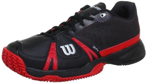 Wilson Rush CC WRS317190E065 Herren Tennisschuhe Schwarz (Black)