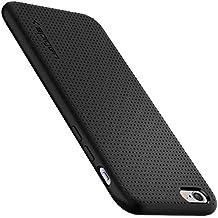 Spigen SGP11751 Capsule Coque pour iPhone 6/6S TPU Souple, Protection Anti Choc, Anti Rayure, Anti Glisse,Noir