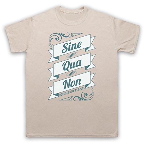 Sine Qua Non Essential Herren T-Shirt Beige