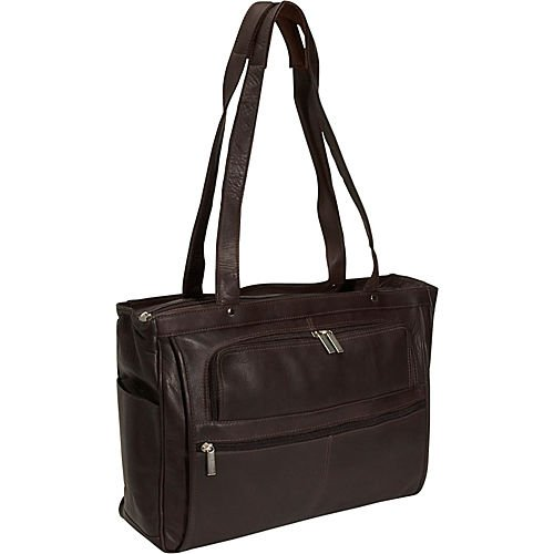 david-king-co-womens-multi-pocket-briefcase-plus-chocolate-one-size