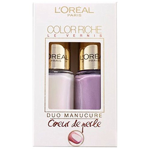 L' Oreal smalto color riche duo Manicure