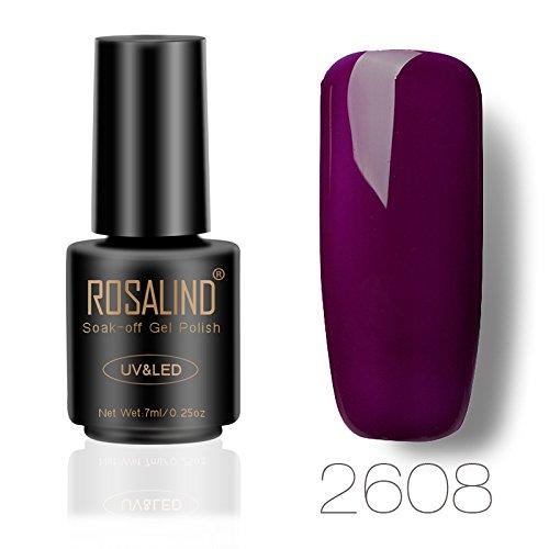 ROSALIND gel esmalte semipermanente uñas remojo UV