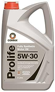 Comma PRO5L 5L Prolife Fully Synthetic 5W30 Motor Oil