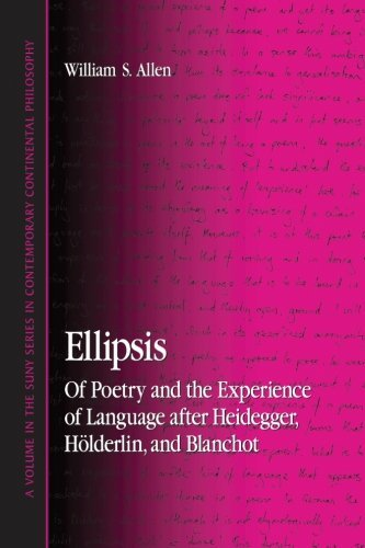 Ellipsis: Of Poetry and the Experience of Language after Heidegger, Holderlin, and Blanchot by William S. Allen (2008-06-05)