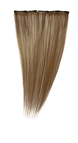 American Dream - A1/QFC12/24/6B - 100 % Cheveux Naturels - Barrette Unique Extensions à Clipper - Couleur 6B - Brun Doré Léger - 61 cm