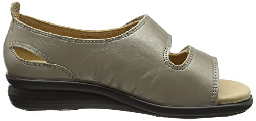 Hotter Florence, Scarpe Spuntate Donna Gold (Nickle Metallic)