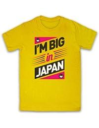 I'm Big In Japan Hipster Slogan Herren T-Shirt
