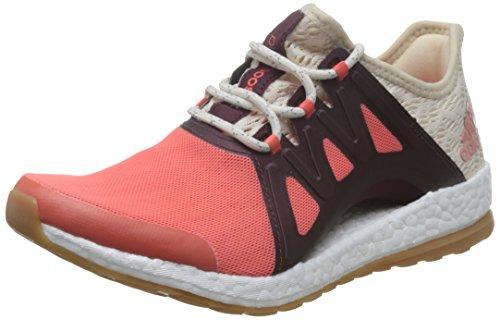 adidas Damen Pureboost Xpose Clima Laufschuhe, Orange (Arancione Corsen/Lino/Granat), 37 EU (Clima Schuhe Adidas)