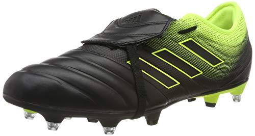 adidas Herren COPA Gloro 19.2 SG Fußballschuhe, Mehrfarbig Core Black/Solar Yellow F36080, 42 2/3 EU