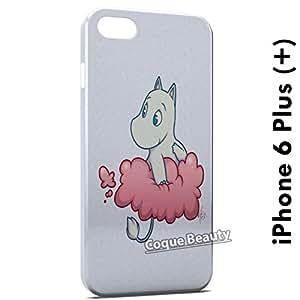 Coque Etui iPhone 6 plus (+) Les Moomins étui Housse Case Cover Protection